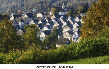 Freudenberg in Siegerland,North Rhine westphalia,Germany