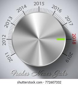 Frhoes neues Jahr Knop 2018