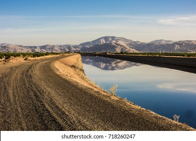 Friant-Kern Canal Agriculture Landscape