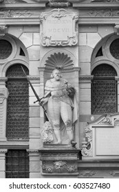 Fridericus V, Elector of the Palatine of the Rhine in black and white