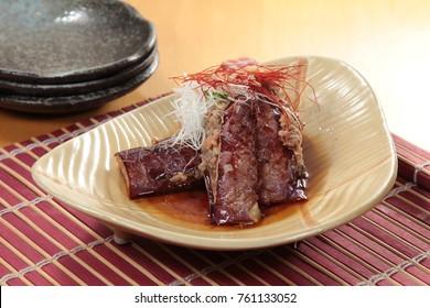fried beef cuisine