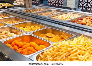 Fried buffet