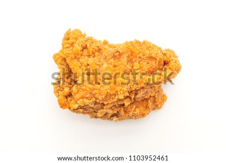 Fried Chicken Junk Food Unhealthy Food Stock Photo Edit Now