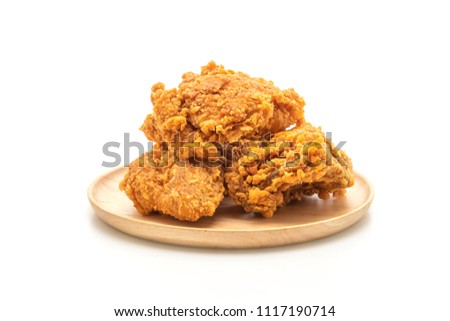 Fried Chicken Meal Junk Food Unhealthy Stock Photo Edit Now