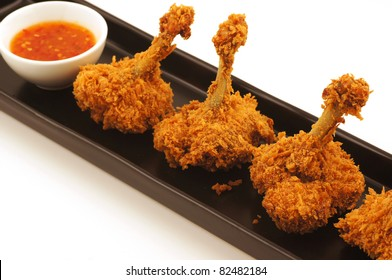Fried Chicken on tray