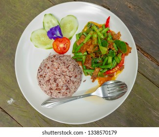 Fried chilly paste with fired pork