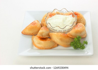Fried dumplings are a great choice for holiday gatherings, appetizer or after school snack