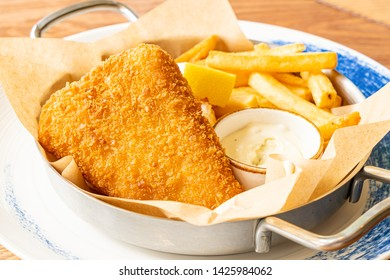 fried fish and chips - unhealthy food