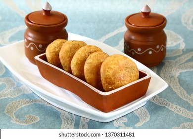 Fried Kachori or kachodi  - Indian Food