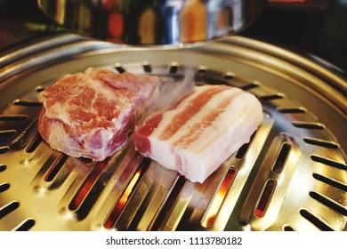 fried korea pork