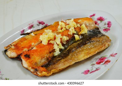 Fried milkfish
