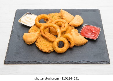 fried mixed appetizers