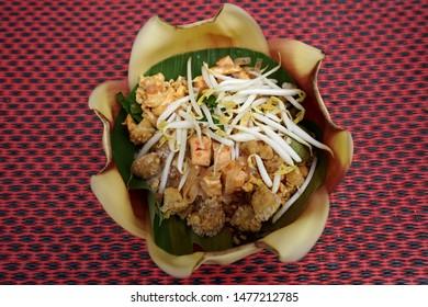 fried Noodle Pad Thai Street foods