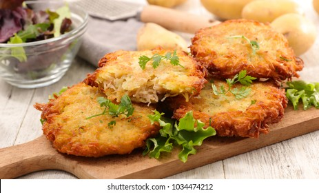 fried potato cake