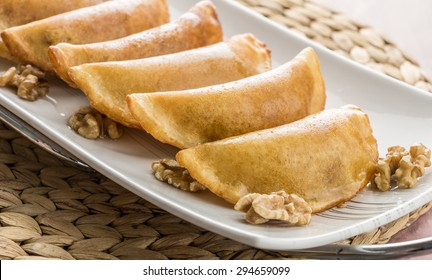 Fried Qatayef