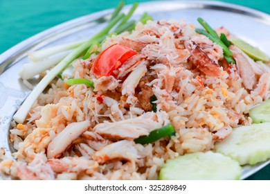 Fried Rice with Crab, Fried Rice Thai Style, Asia, Thailand