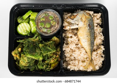 fried rice with mackeral