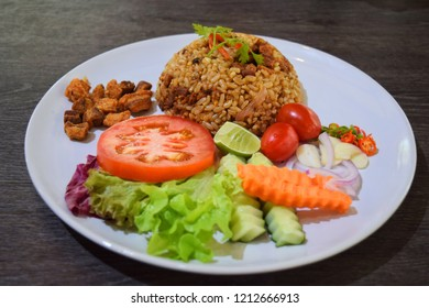 Fried Rice and Salad at Chiang Mai Royal Project