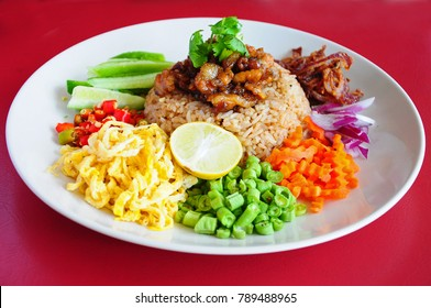 Fried Rice with Shrimp Paste