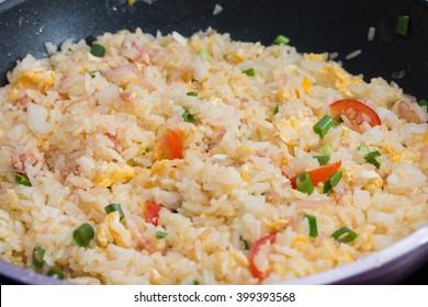 Fried rice Thai food