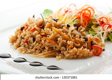 Fried Rice with and Vegetables