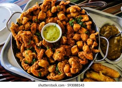 Fried shrimp - Prwans - Brazilian northeastern food