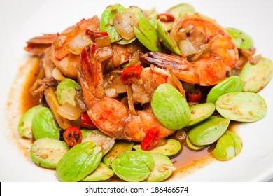 Fried shrimp Sato