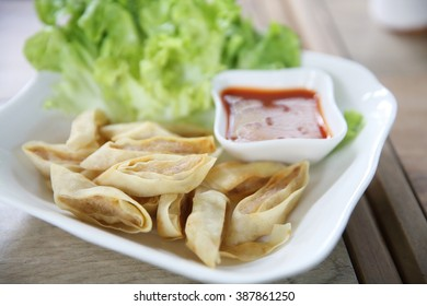 Fried Spring Roll also known as Egg Roll