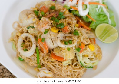 Fried Thai Mama Instant Noodles