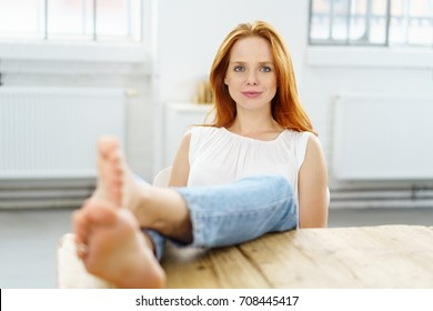 Woman Feet On Table Images Stock Photos Amp Vectors