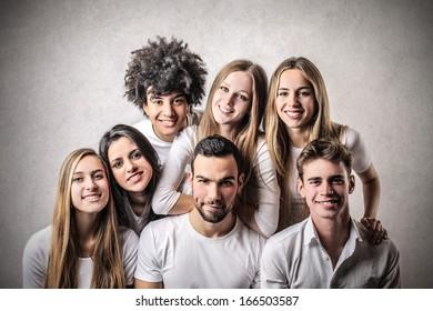 Friendly Teenagers