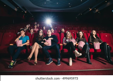 Friends at the cinema