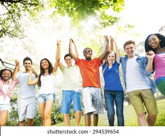 Friends Friendship Happiness Success Amity Concept