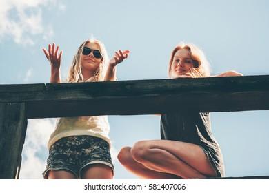 Adult ass blonde milf and teen friend clemson