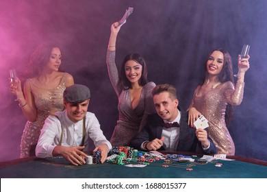 Poker Happy Hd Stock Images Shutterstock