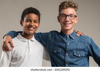 Friendship between teenagers