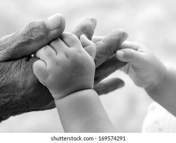 friendship and Binding , Be hand in hand , black and white , B&W Pic