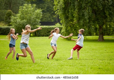 Kids Playing Tag Images, Stock Photos & Vectors | Shutterstock