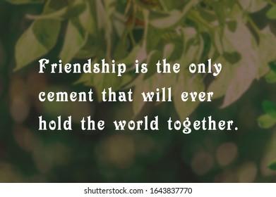 imagenes fotos de stock y vectores sobre friendship quote
