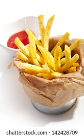 Fries with Red Sauce
