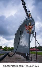 Frigate warship