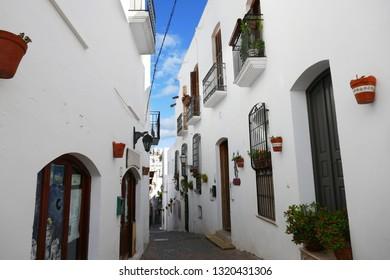 Frigiliana in Andalusia, Spain