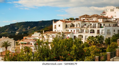 Frigiliana Village in Malaga, Spain