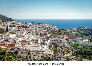 Frigiliana - White andalusia Village with view of the Costa del Sol Spain