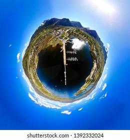 Frisco Marina, Frisco Colorado,Tiny Planet View