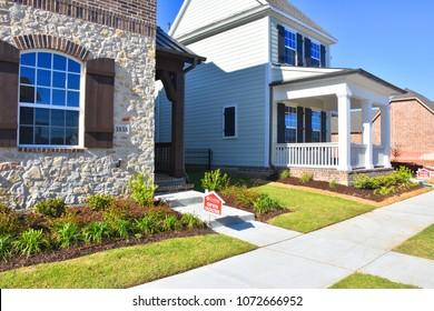 Frisco, Texas, USA, April 18, 2018/Home building
