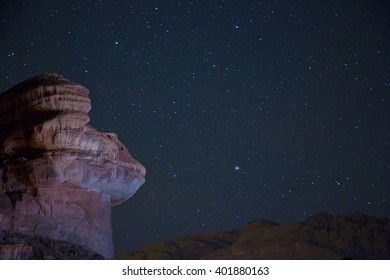 Frog mountain in Wadi Rum desert, Jordan