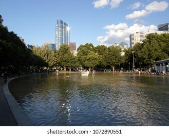 Frog Pond, Boston Common, Boston, Massachusetts, USA