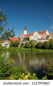Frohnleiten. Mur river in Styria, Austria.