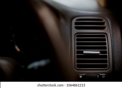 front air vent in car